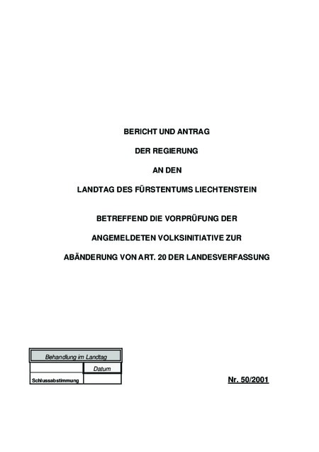 Bericht und Antrag-Verkehrsinitative